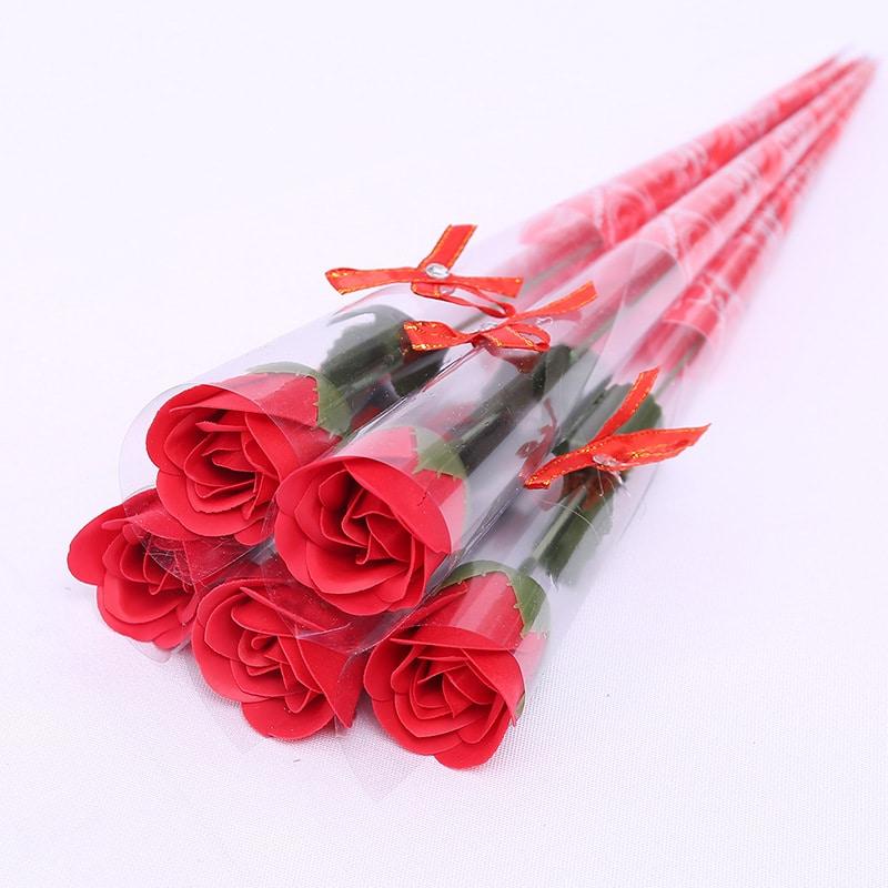 Hoa hồng sáp 1 bông HHS06 Bossi.vn