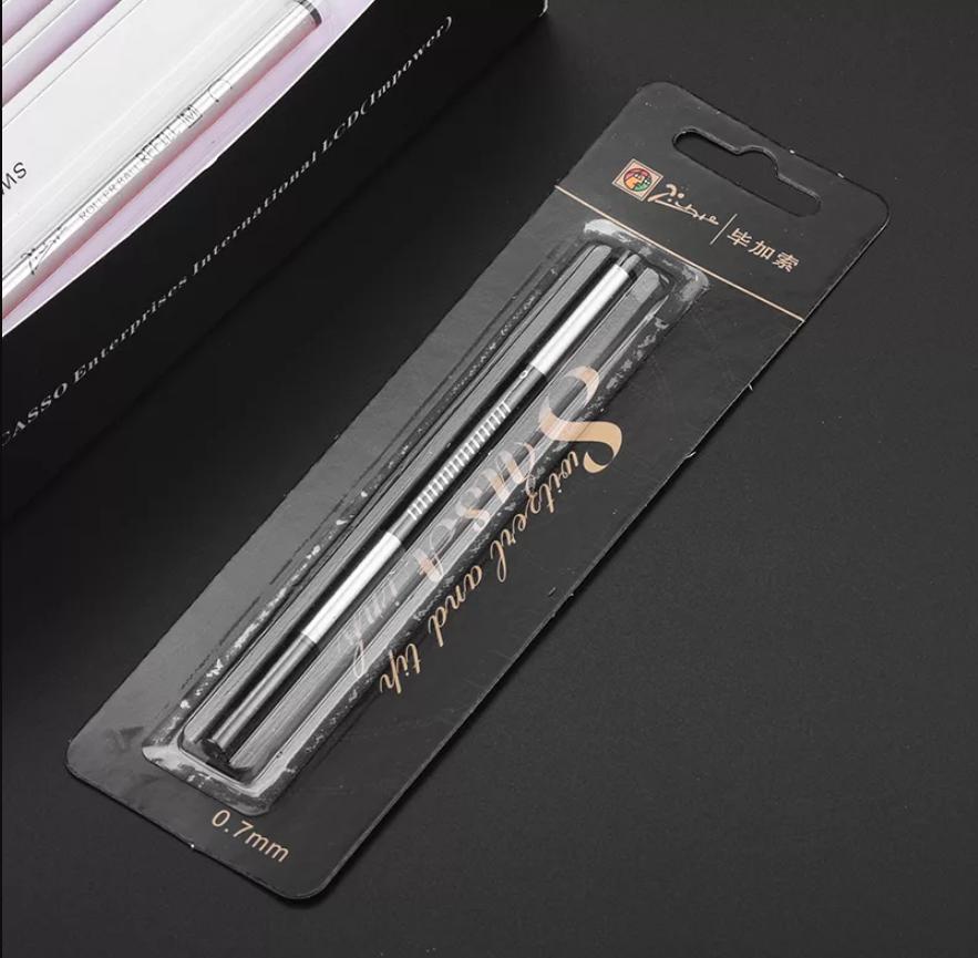 Ruột bút Picasso 0.7mm (MỰC XANH)