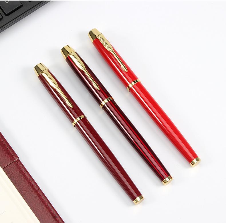 Bút ký Bossi 270RR - Đỏ cài vàng