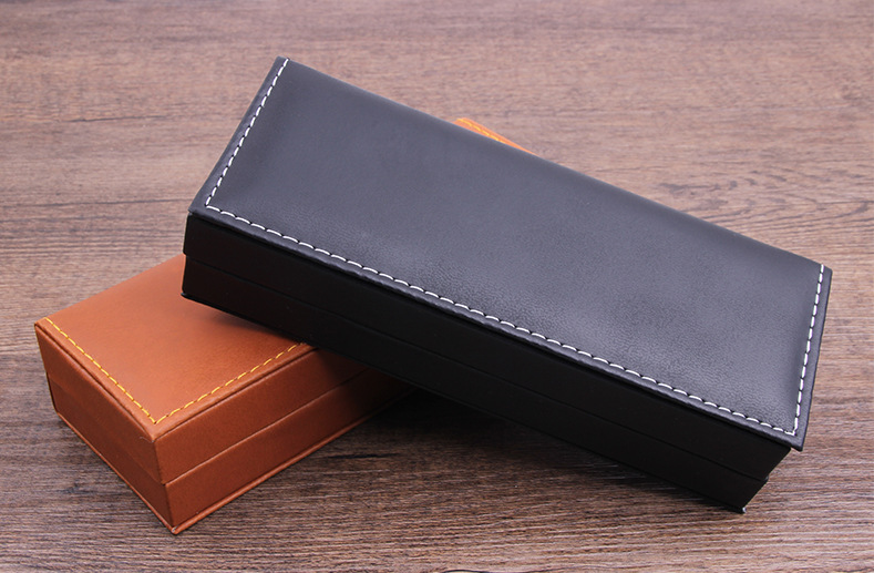 Hộp đựng bút ký Bossi (da) B200610 - Đen