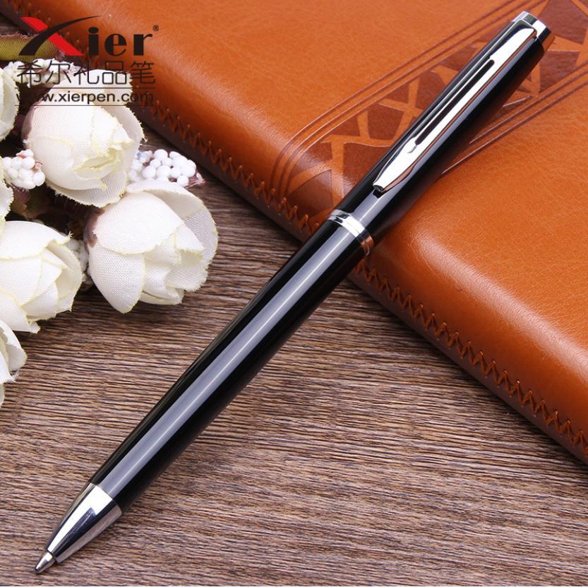 Bút ký dạ bi Bossi T229PBS - Đen cài bạc (Không kèm hộp)